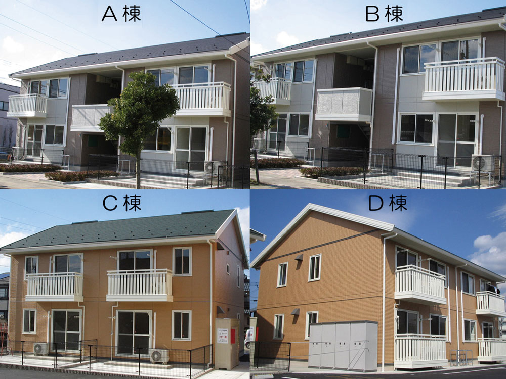 C棟201号室(2階建-2階)