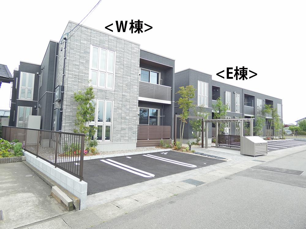 A棟2号室タイプ(2階建)