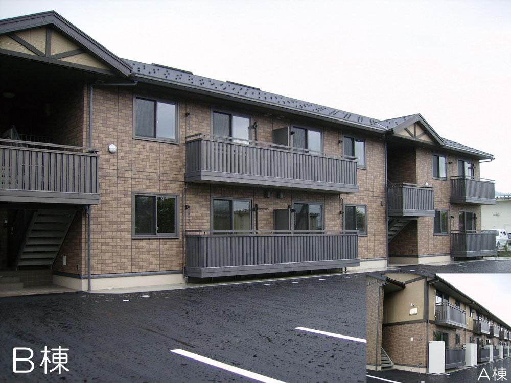 B棟105号室(2階建-1階)