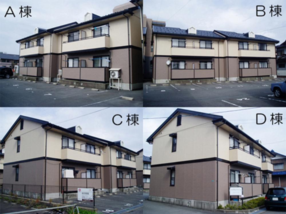 B棟102号室(2階建-1階)