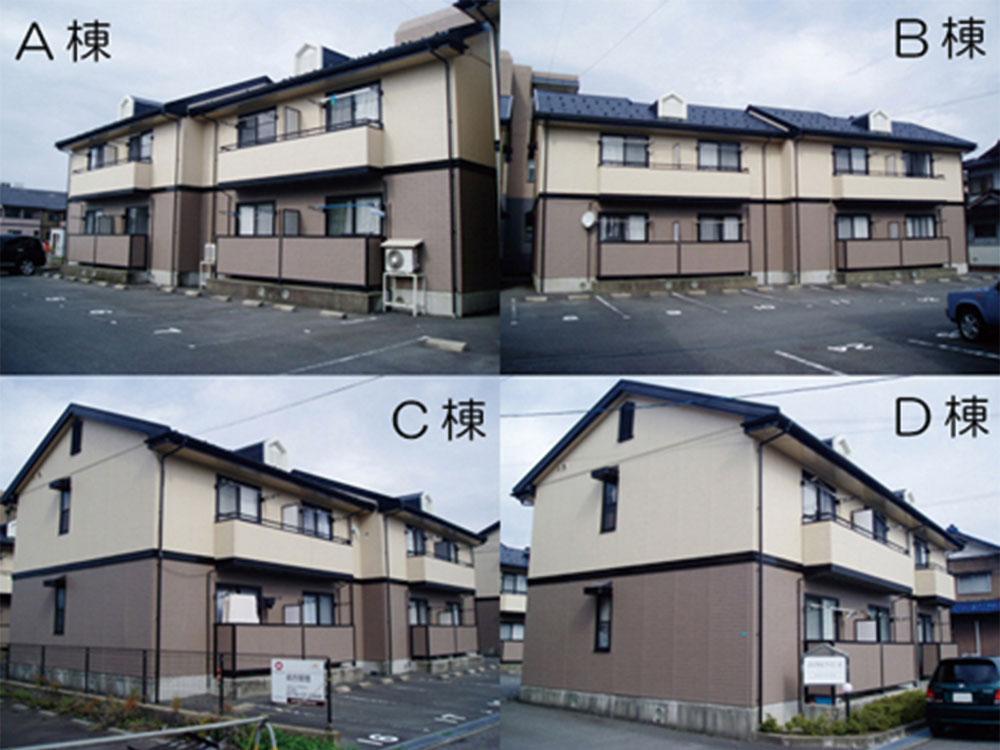 ロイヤルファミールD棟203号室(2階建-2階)