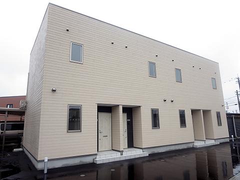 木造2階建メゾネット 2棟8戸